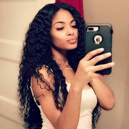 13*4 Deep Wave Lace Front Wigs 100% Virgin Human Hair Wigs 2