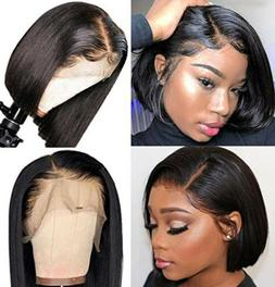 8A Remy human Hair Pre-plucked 13x4 Glueless Lace Front Wigs