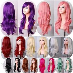 70cm long curly cosplay costume party hair