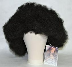 """Kalyss 8"""" Short Afro Kinky Curly Black Synthetic Hair Wig"""
