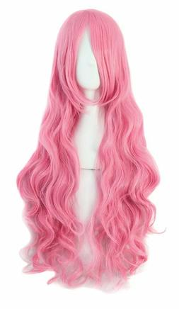 80 cm Cosplay Wigs Costume Hair Anime Full Wavy Party Wig Lo