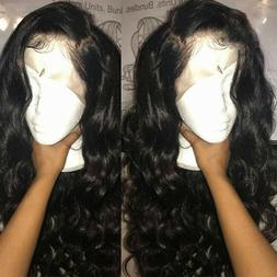 Body Wave Remy Brazilian Human Hair 360 Lace Front Wigs Full