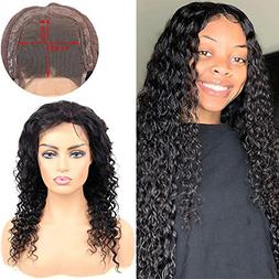 Deep Wave 4X4 Lace Closure Wigs Human Hair 4X4 Lace Front Wi