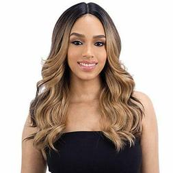 FreeTress Equal Synthetic Hair Wig Lace 5 Deep Part Lace Val