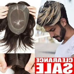 French Lace Mens Toupee Hairpiece Human Remy Hair System Rep