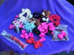 Hair accessories GRAB BAG ties bows floral clips wigs pieces