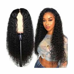 UNice Hair Jerry Curly 13 x 4 Lace Front Human Hair Wigs 180