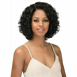 Bobbi Boss Human Hair Natural Hairline Swiss Lace Front Wig