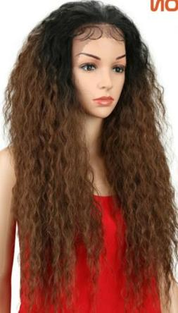 Kinky Curly With Baby Hair Cosplay Natural Loose Wave Hair 3