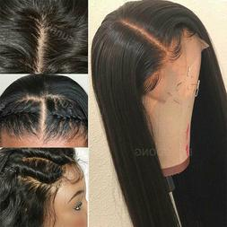 Lace Front Wig Silky Straight Malaysian Virgin Human Hair Wi