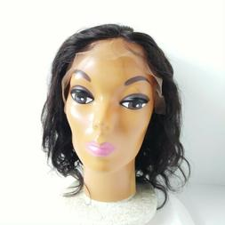 Lace Front Wigs Human Hair Bleached Knots Baby Hair Natural
