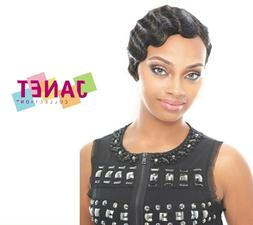 MOMMY 2  - 100% Remy Human Hair Wig - Finger Wave Style - Ja