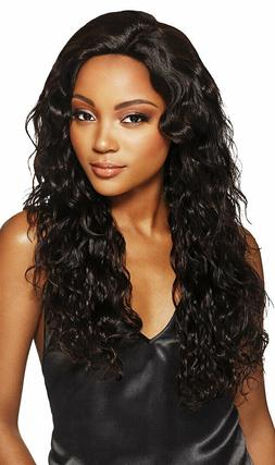 NATURAL BOHO BODY HAND TIED LACE WIG 100%UNPROCESSED HUMAN H