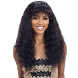 NAKED NATURE UNPROCESSED REMY HUMAN HAIR WET&WAVY WIG - DEEP