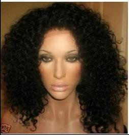 """on sale! Live Curly 100%Indian Remy Human Hair 14"""" Full/Fron"""