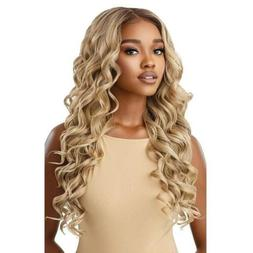 OUTRE PERFECT HAIR LINE SYNTHETIC 13X6 LACE FRONT WIG - CHAR