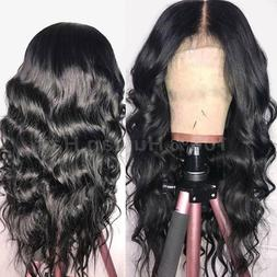 Pre Plucked Lace Front Wig Virgin Malaysian Human Hair Wigs